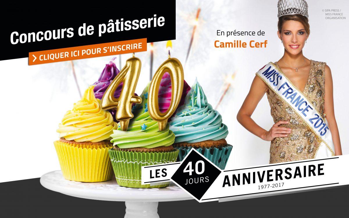 Concours de pâtisserie avec la présence exceptionnelle de Miss France 2015!