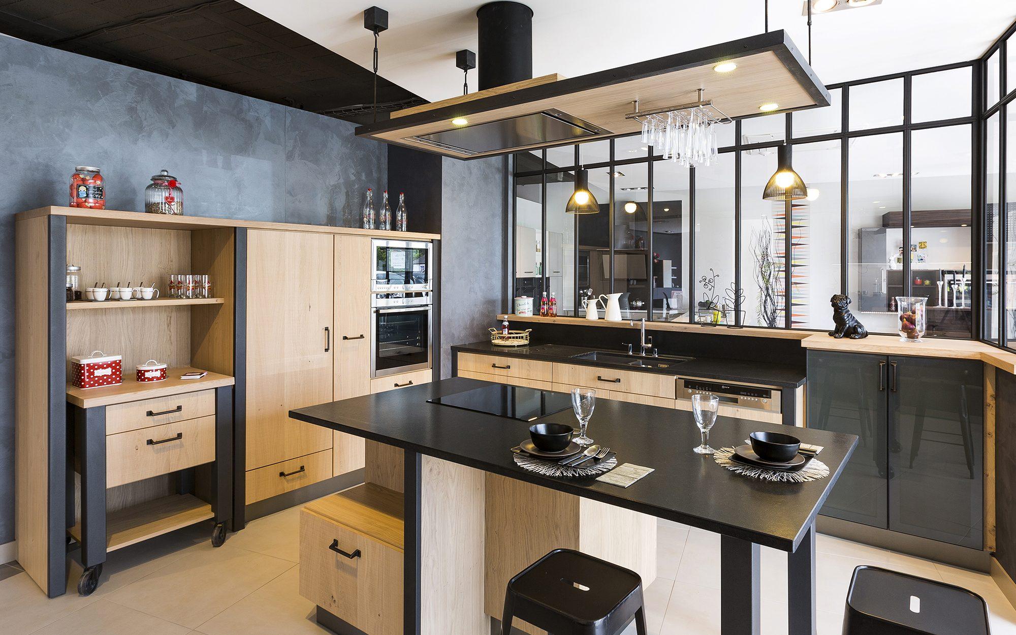 Cr ations gravouille cuisines salles de bains bureaux for Cuisine stormer kuchen