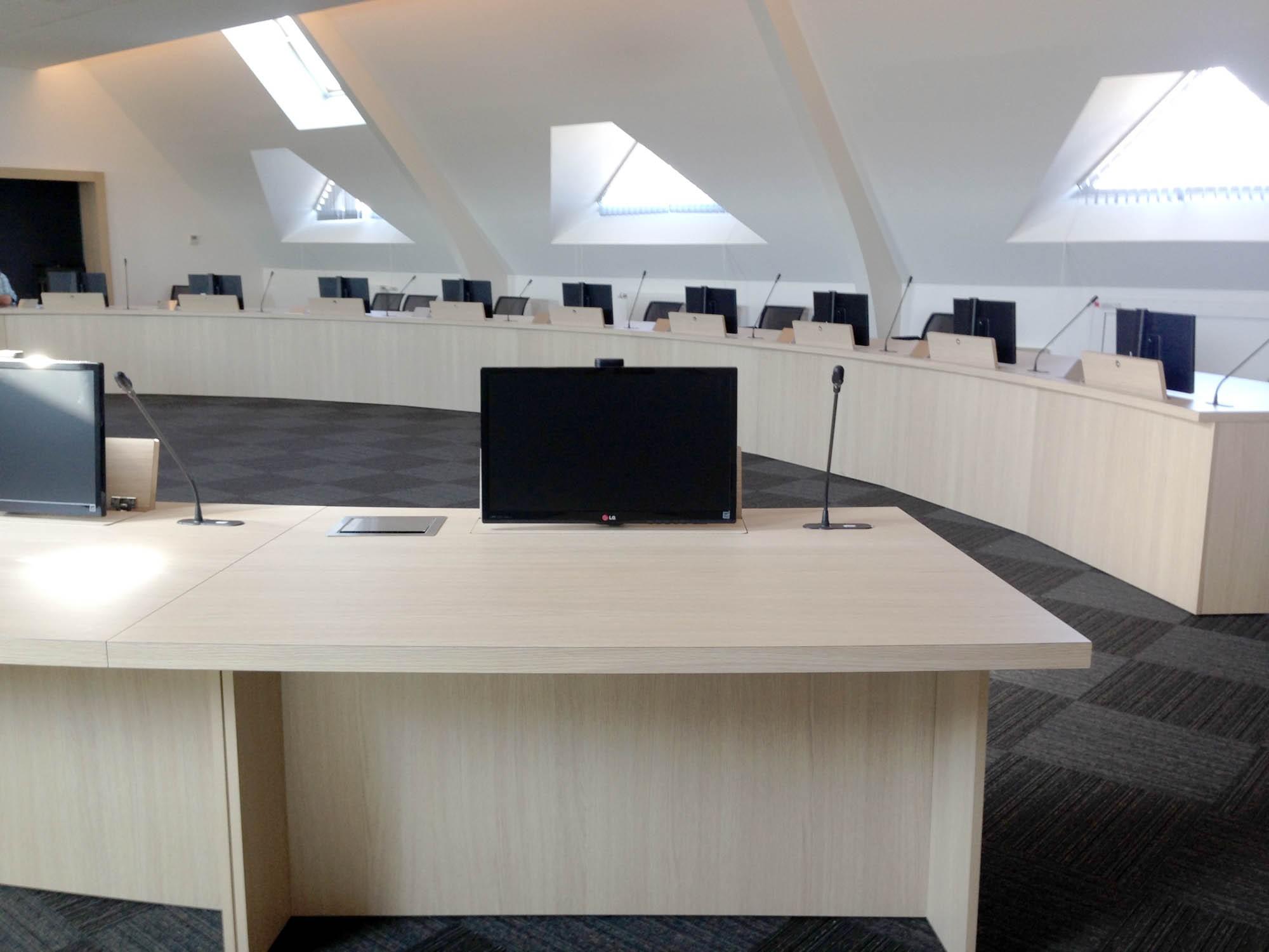 Table réunion professionnelle