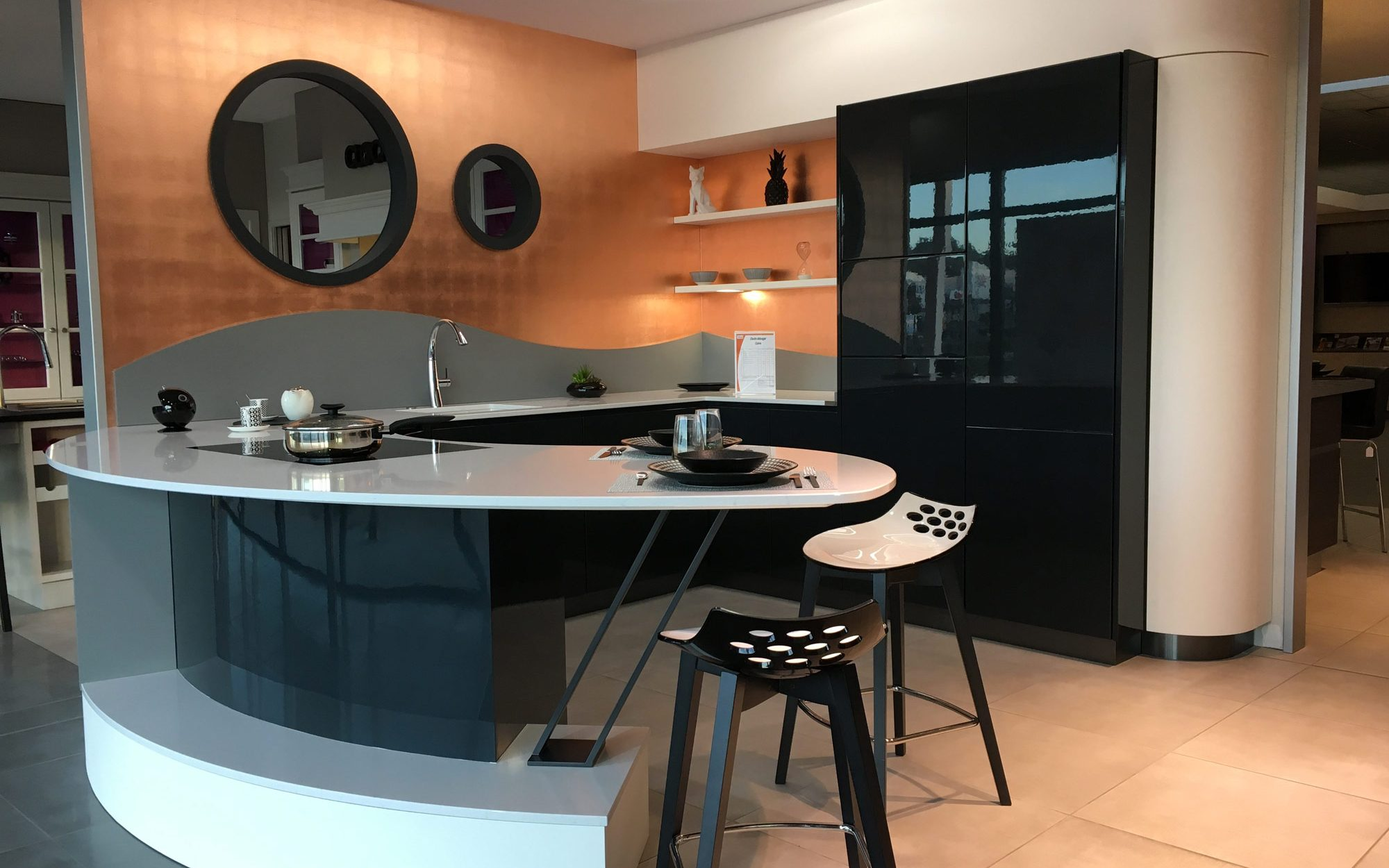 Cr ations gravouille cuisines salles de bains bureaux for Cuisine gravouille