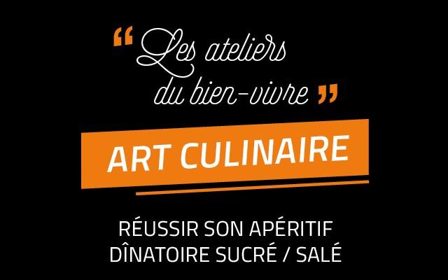2 week-ends d'ateliers d'art culinaire du 15 au 30 mars
